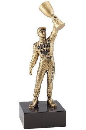 3D-Laser-Award aus Zinn