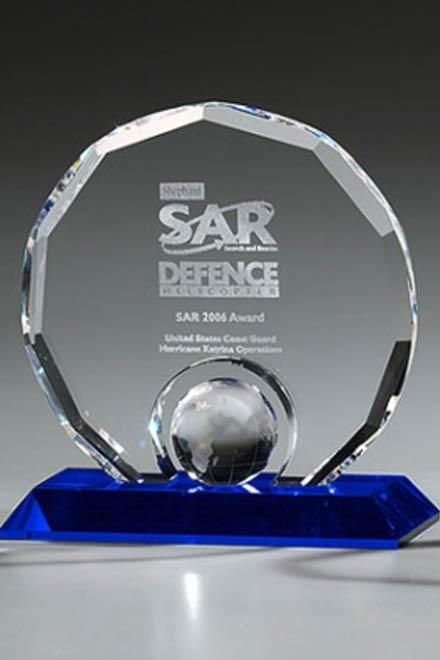 Mitarbeiterehrung Sales Award Globe
