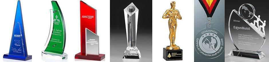 Lasergravur 3D Gravur Glas - Awards, Pokale, Trophäen, Pokale, Foto in Glas