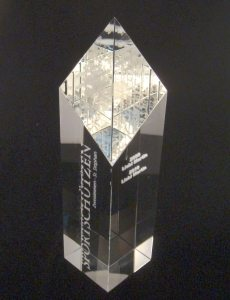 Sliced Glas Award