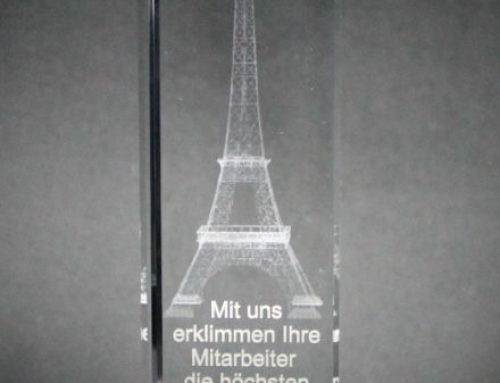 Mitarbeiter Award Bregenz Neuheit 2018 / Innenglasgravur