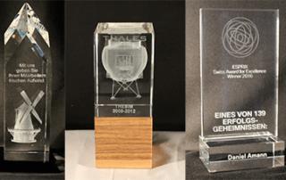 Mitarbeiter Auszeichnung - 3D Laser Lasergravur