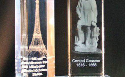 3D Lasergravur Baukasten Award