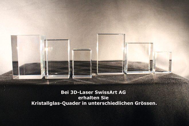 3D Laser Quader Kristallglas für Foto in Glas Glas Award - Trophäe