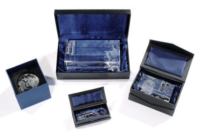 Beispiel-Awards von 3D-Laser