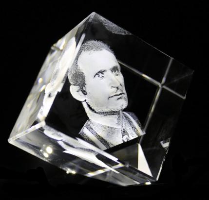 alte fotos umwandeln für 3d gravur foto in glas 3d-laser